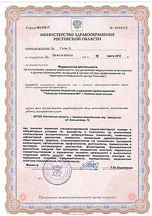 Приложение №1 к лицензии (с. 3)